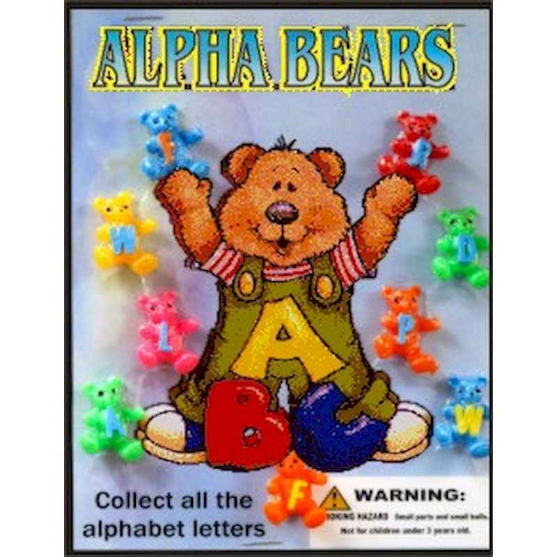 30-APBRC1 - Alpha Bears in 1.1 inch Capsules (250 ct.)