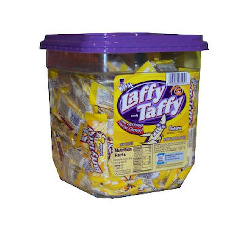 21-93105-165 - LAFFY TAFFY Banana (165x0.3oz) 3.09 lbs. Net Wgt.