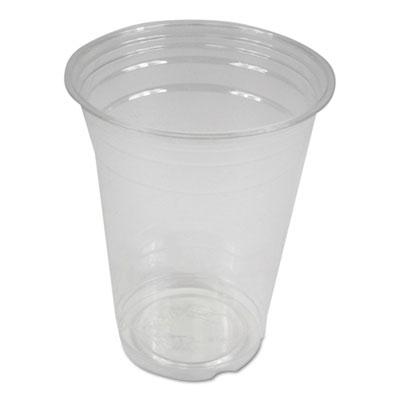 Clear Plastic Cold Cups 16 oz PET 1,000/Carton