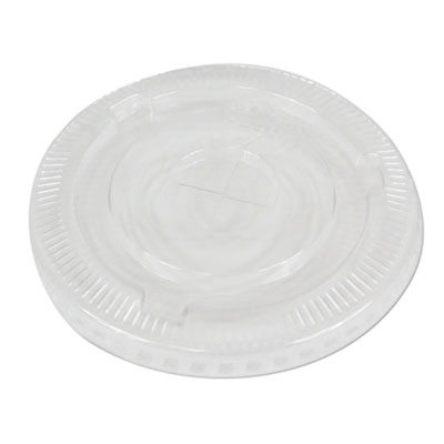 PET Cold Cup Lids Fits 16-24 oz Plastic Cups Clear 1000/Carton