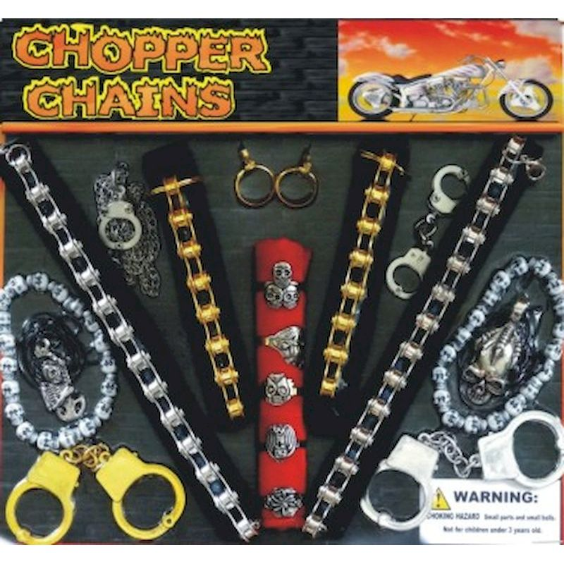 30-CHCHNC2 - Chopper Chains Mix in 2 inch Capsules (250 ct.)