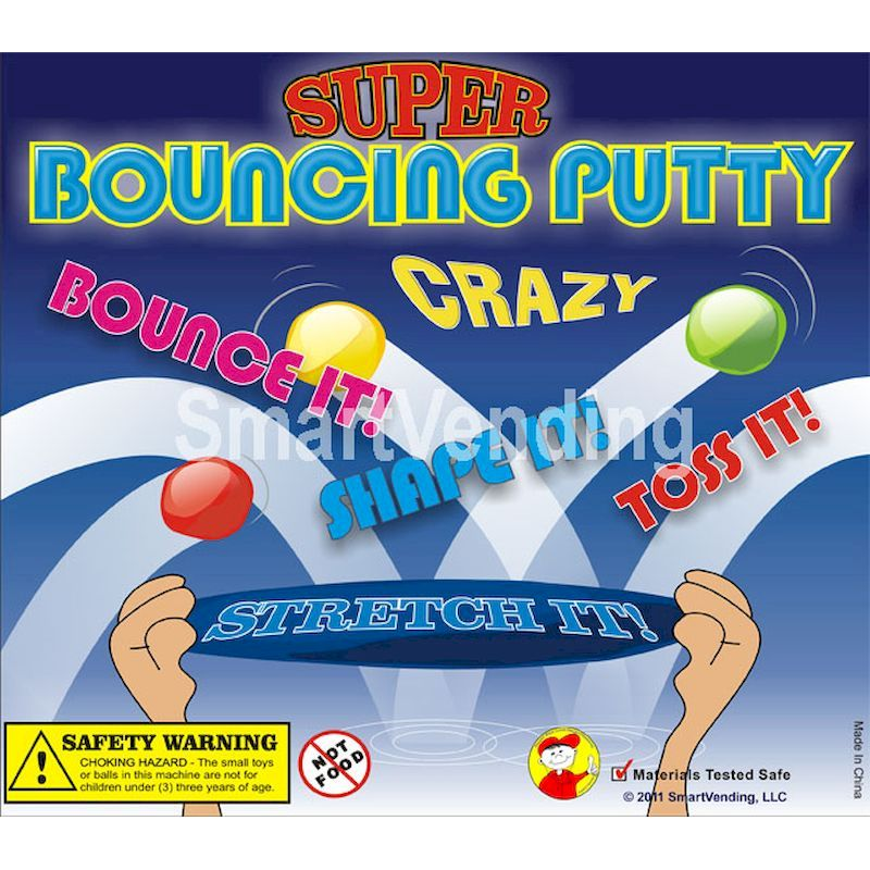 31-BOPUC2 - Display Card for Crazy Bouncing Putty