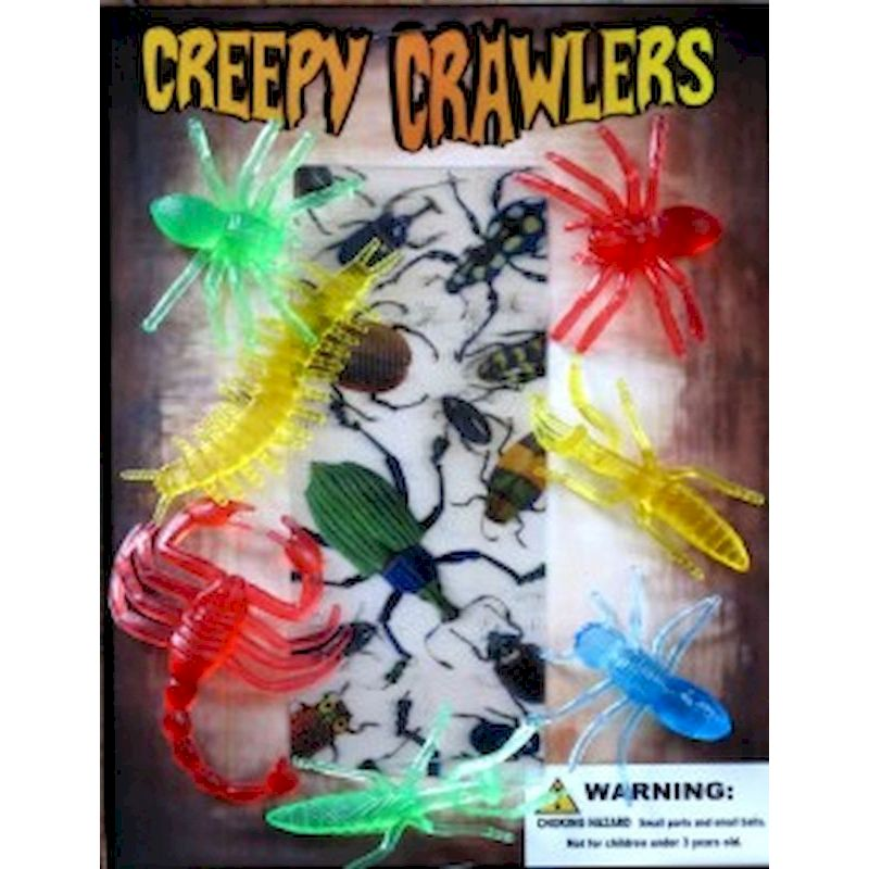 30-CRCRC1 - Creepy Crawlers in 1.1 inch Capsules (250 ct.)
