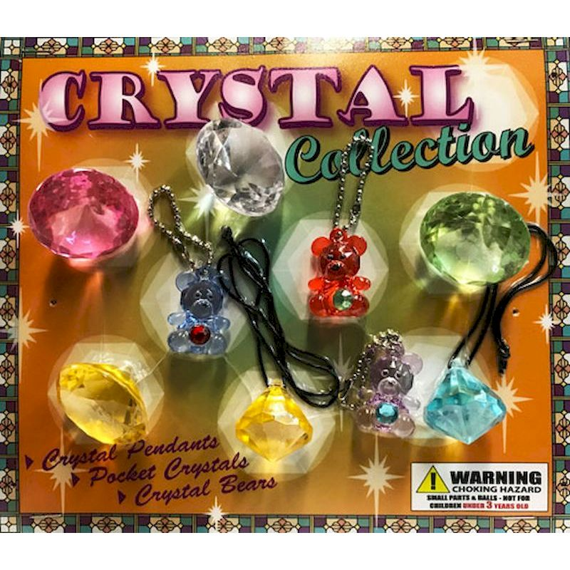 Crystal Jewelry Collection in 2 inch Capsules (250 ct.)