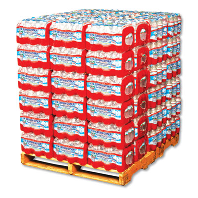 Crystal Geysor Alpine Spring Water, 16.9 oz Bottle, 24/Case, 84 Cases/Pallet