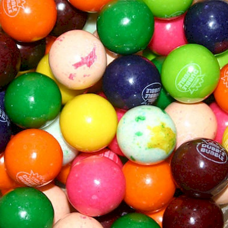 94008 - Dubble Bubble Assorted (10 Colors) Gumballs (850 ct.)