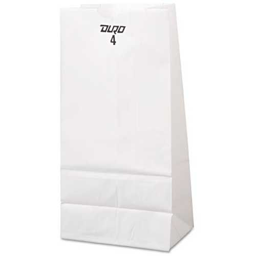18-120045 - Grocery Bag 4# White 500ct