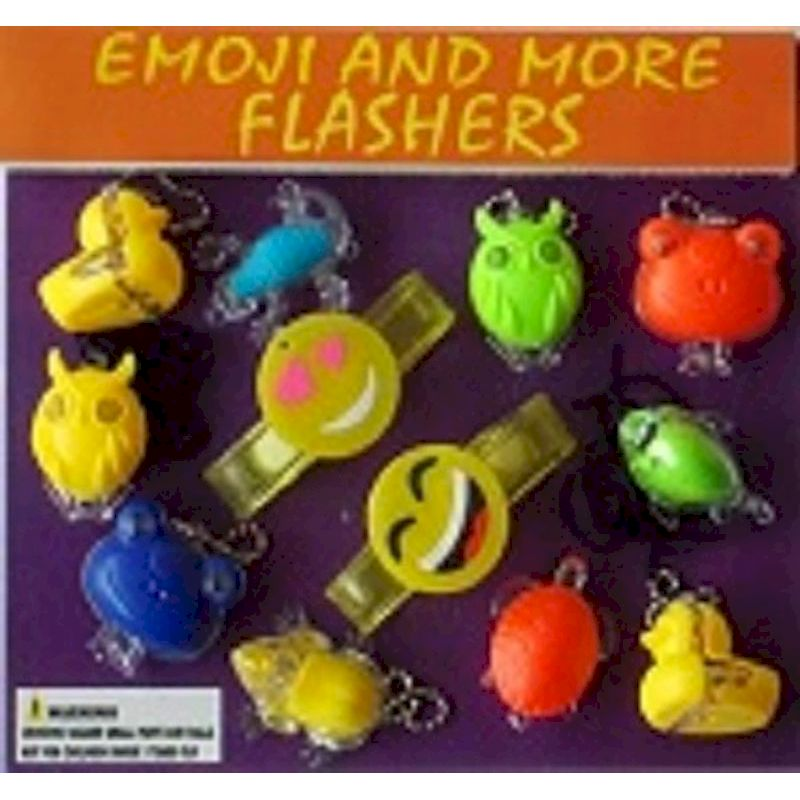 30-EMMFC2 - Emoji & More Flashers in 2 inch Capsules (250 ct.)