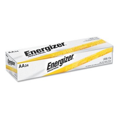 16-EVEEN91 - Eveready Energizer EN91 Industrial Alkaline AA Batteries 1.5V 24/Box