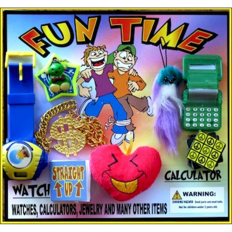 30-FNTMC2 - Fun Time Premium Toy Mix in 2 inch Capsules (250 ct.)