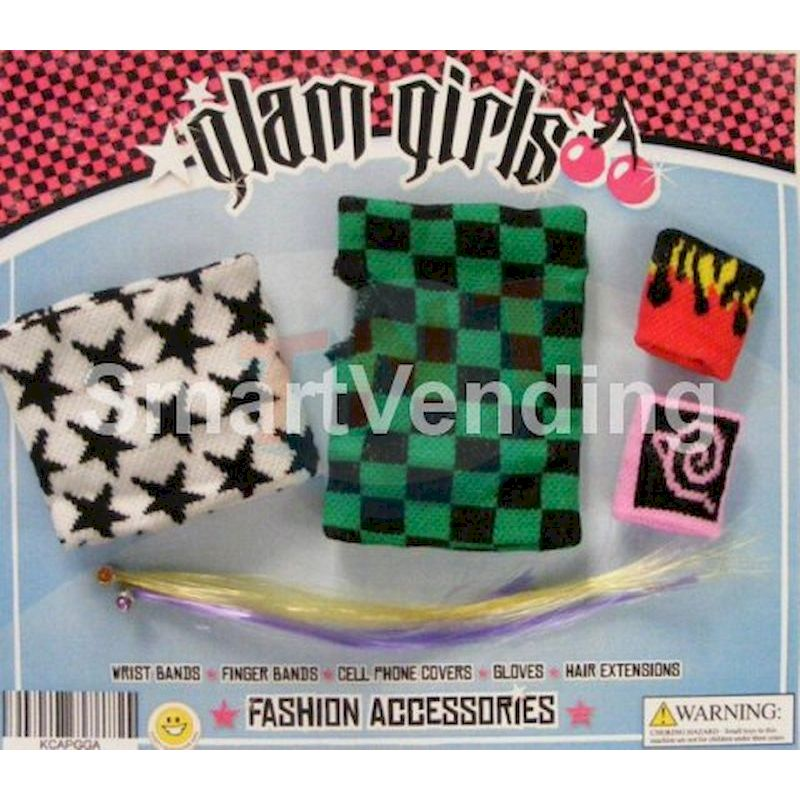30-GLGIAC2 - Glamour Girls Accessories in 2 inch Capsules (250 ct.)