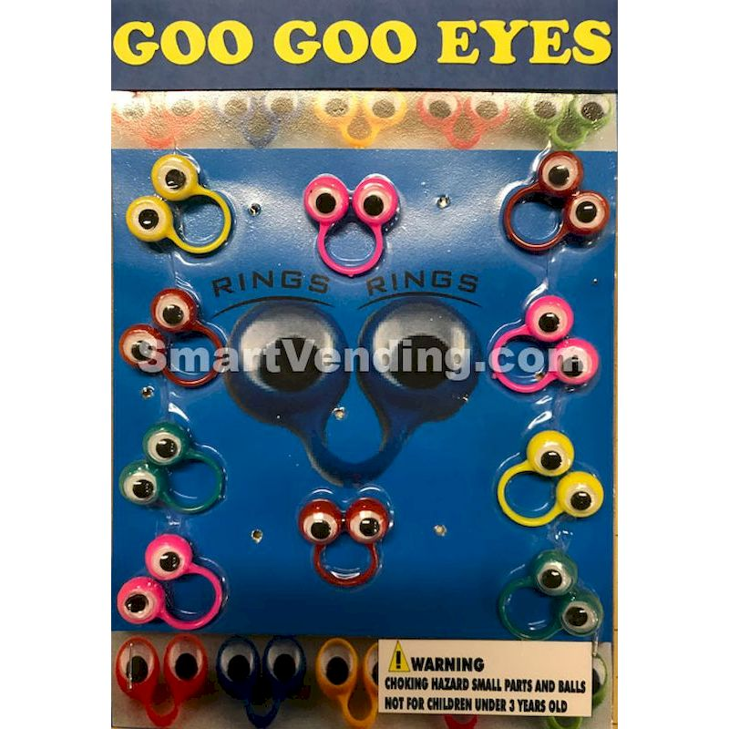 30-GGERGC1 - Goo Goo Eye Rings in 1.1 inch Capsules (250 ct.)