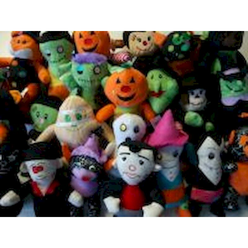 PLGENH7-11 - Crane Halloween Plush Mix (7-11 inch) 150 ct