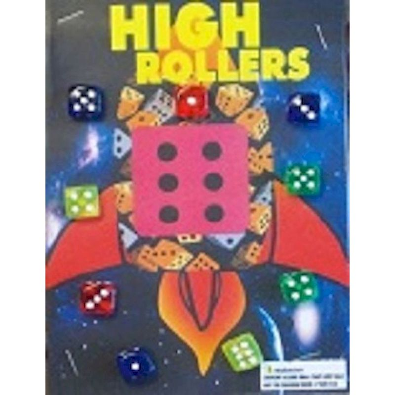 30-HRDCC1 - High Rollers Dice in 1.1 inch Capsules (250 ct.)