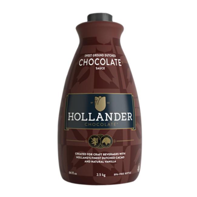 Hollander Barista Sweet Ground Dutched Chocolate Sauce 64oz BOTTLE