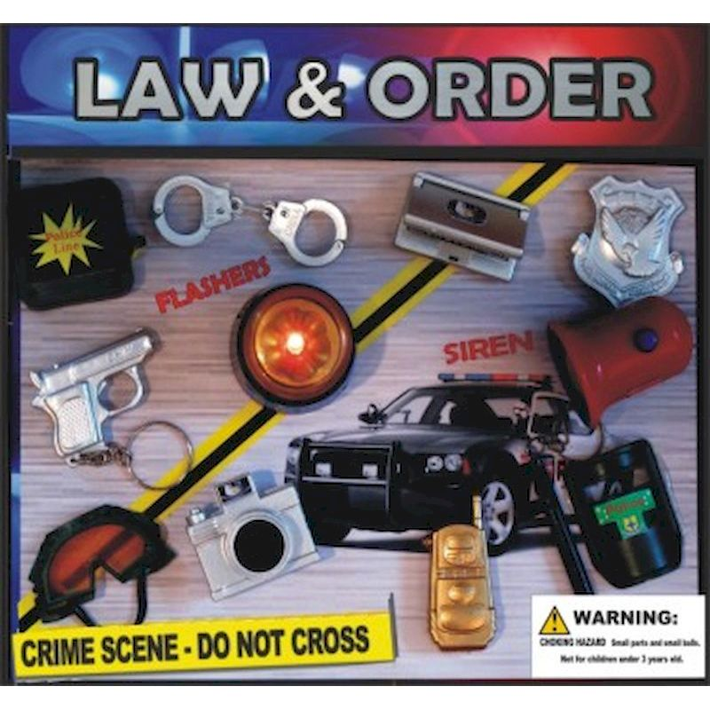 30-LWORC2 - Law & Order Toy Mix in 2 inch Capsules (250 ct.)