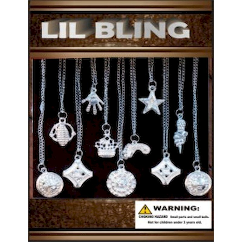 30-LIBLC1-50 - Lil Bling in 1.1 inch Capsules (250 ct.) 50 Cents Mix