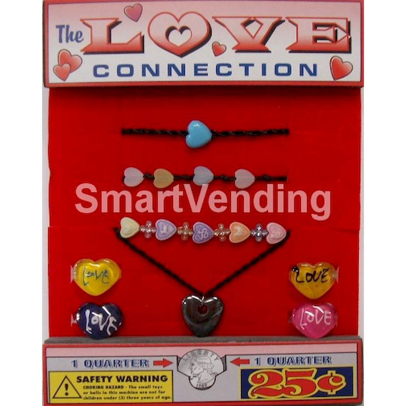 LOCOBC1 - Love Connection Jewelry Mix in 1.1 inch Capsules (250 ct.) BEST SELLER!!!