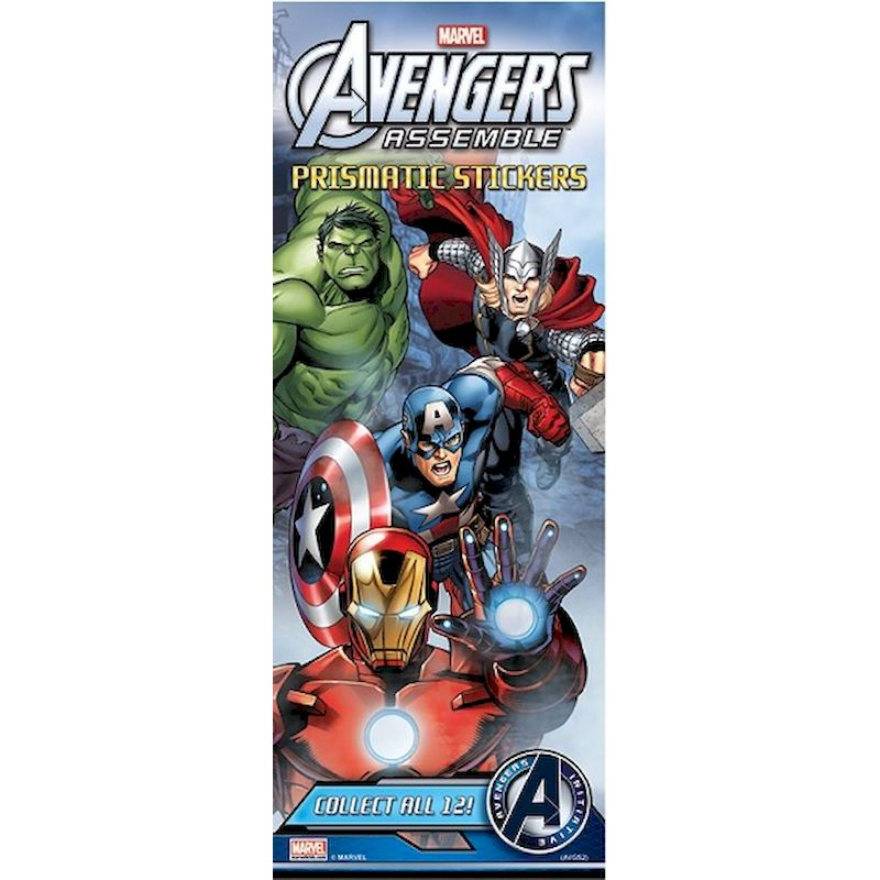 40-AVGST2 - Marvel Avengers Assemble 2 Prismatic Stickers