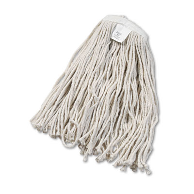 Boardwalk Cut-End Wet Mop Head Cotton No. 20 White