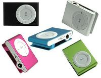 50-MP31G-SH - MP3 Players - 1GB Assorted Colors (Ipod Shuffle Style)