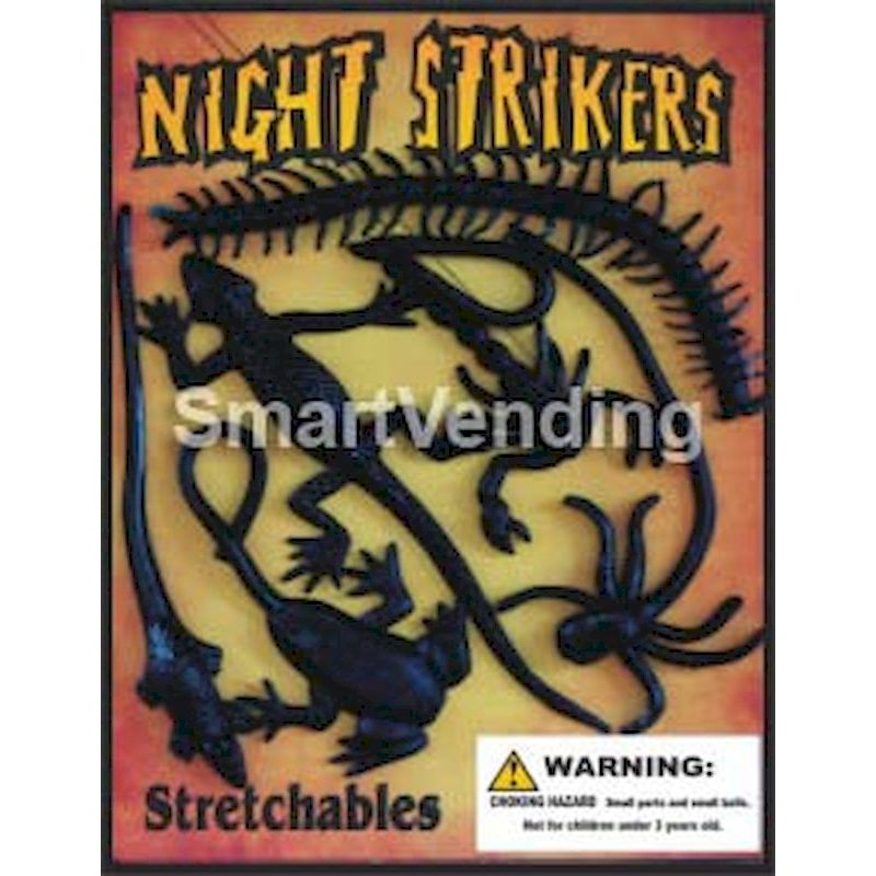 30-NISTRC1 - Night Strikers Stretchables in 1.1 inch Capsules (250 ct.)