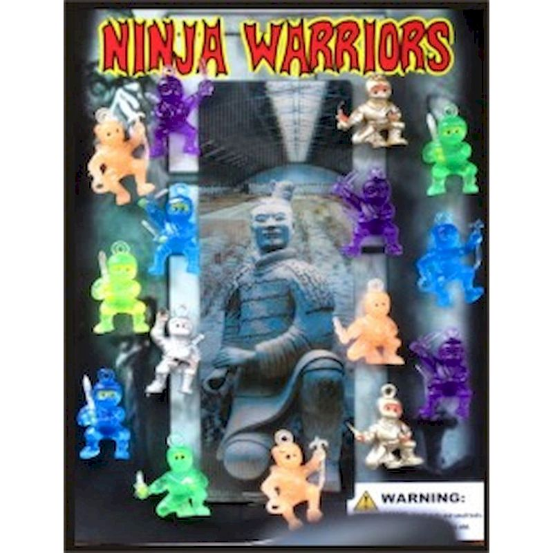 "Ninja Warriors in 1.1"" Capsules (250 ct.)"