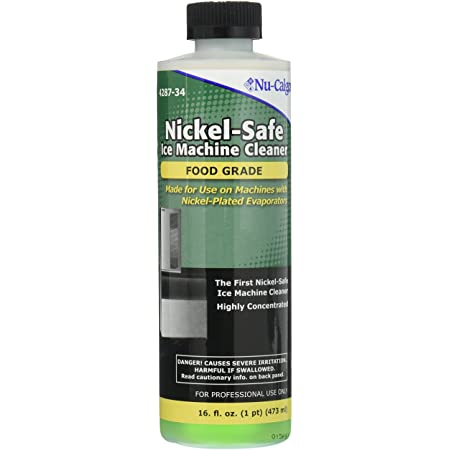 Nu-Calgon Nickel-Safe Ice Machine Cleaner (Food Grade) Pro-Use Concentrate 16 floz.