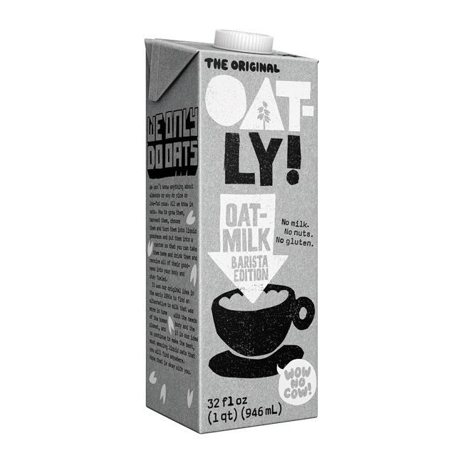 Oatly Barista Edition Oatmilk 12/32oz