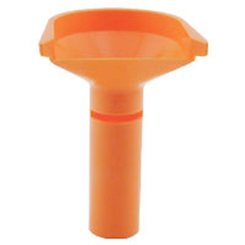 68-QTBST - Quarter Coin Counting Tube - Orange