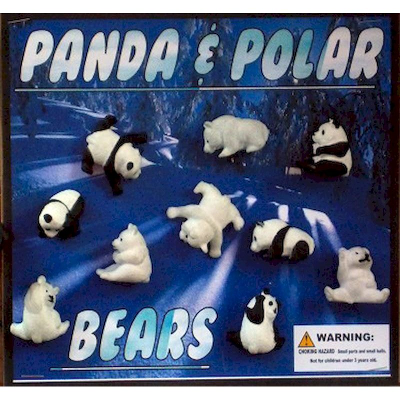 30-PDPOC2 - Panda & Polar Bears in 2 inch Capsules (250 ct.)