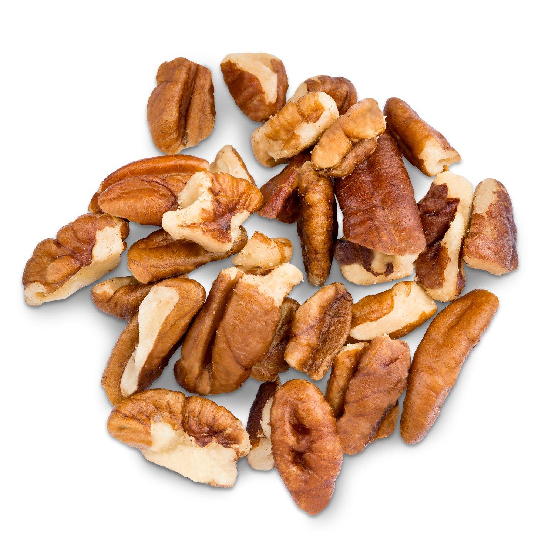 Pecans Medium Pieces Raw Bulk 5 lbs