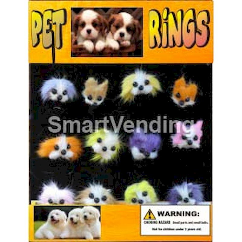 30-PERGC1 - Pet Rings in 1.1 inch Capsules (250 ct.)