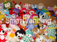 "PLGEN7-11HC - SmartVending Plush Variety PrePak 7"" to 11"" Assorted 75 ct.TOP SELLER!!! FREE SHIPPING!!!"