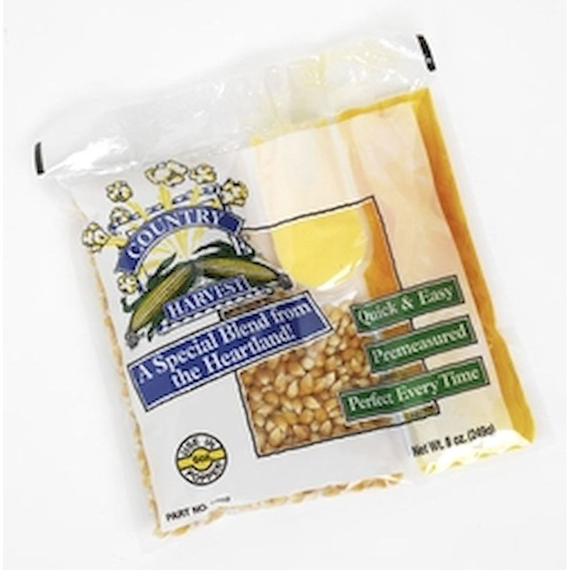 23-1000 - Country Harvest Popcorn 4oz Portion Pack (24 ct. Case)