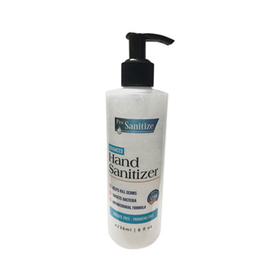 ProSanitize Hand Sanitizer 8 oz Bottle Unscented 12/Carton