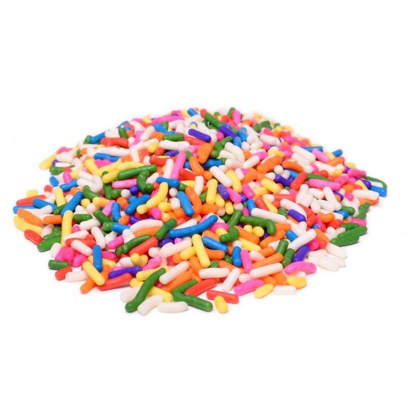 Rainbow Assorted Color Sprinkles Bulk 4 lbs