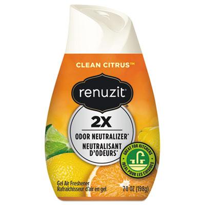 Renuzit Adjustables Air Freshener, Citrus Sunburst, 7 oz Cone, 12/Carton