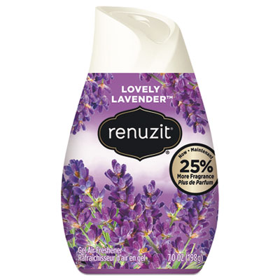152-DIA35001CT - Renuzit Adjustables Air Freshener, Lovely Lavender, Solid, 7 oz, 12/Carton