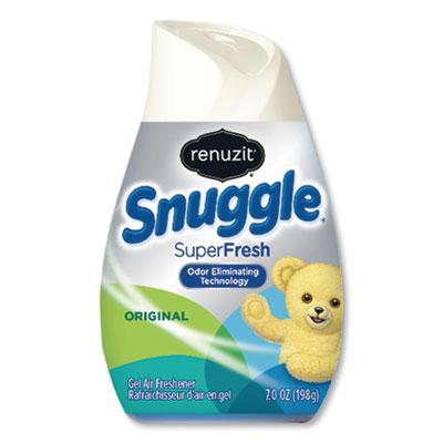 Renuzit Adjustables Air Freshener, Snuggle SuperFresh Scent, 7 oz Solid, 12/Carton