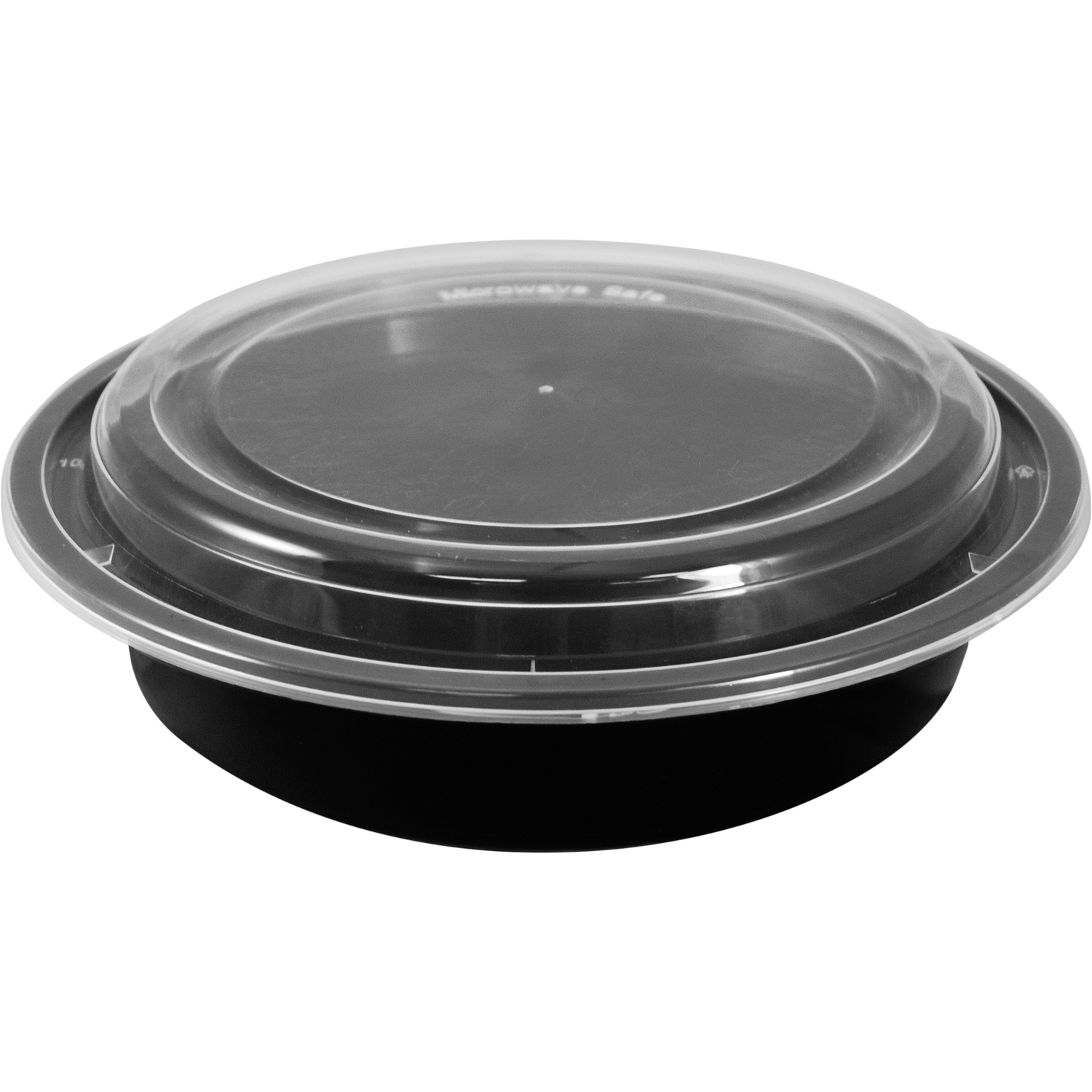 Culpak 48 oz Round Base / Lid Microwavable Container 150 ct