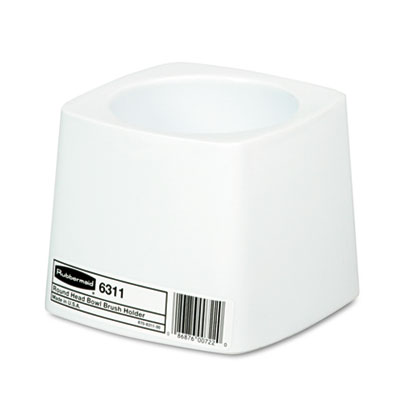 RubberMaid Holder for Toilet Bowl Brush White Plastic
