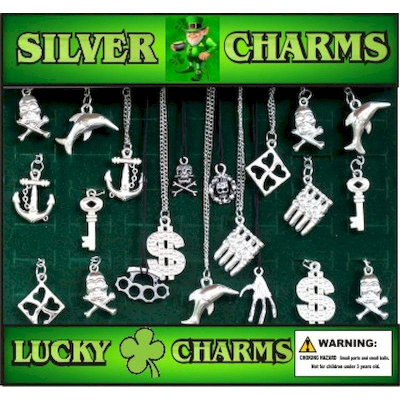 30-SICHC2 - Silver Charms Jewelry Mix in 2 inch Capsules (250 ct.)