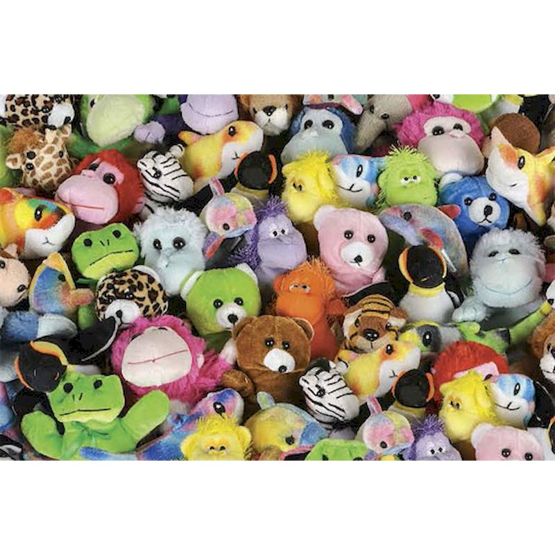 SmartVending Small Plush Asst 4 to 7 inch (144 ct.) Avg .85 Cents Each -FREE SHIPPING!!!