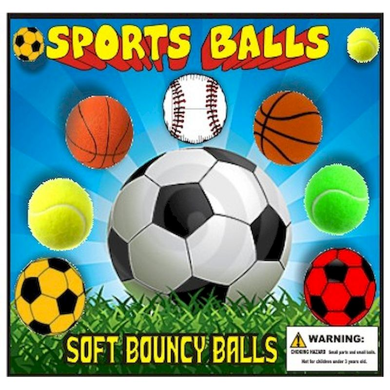 30-SPSPBLC2 - Sponge Sports Balls 2 inch (49 mm) Self-Vending (250 ct.)