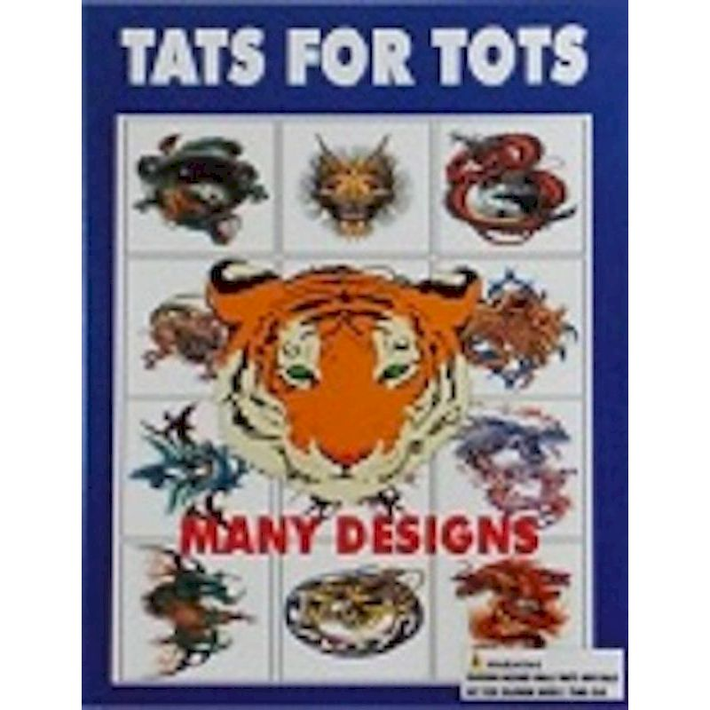30-TATOTC1 - Mini Tatts for Tots in 1.1 inch Capsules (250 ct.)